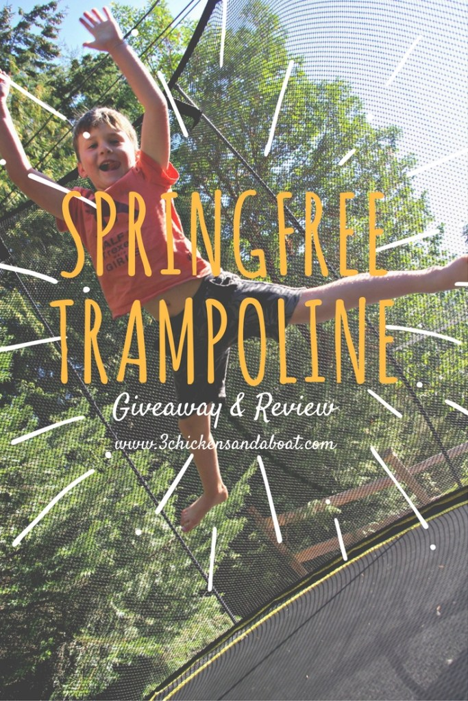 springfree trampoline and tgoma review