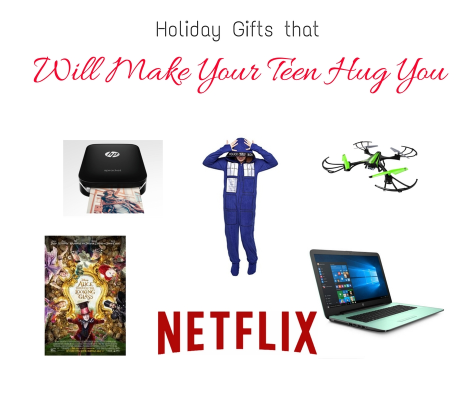 Gifts that Will Make Your Teen Hug You  #HPonQVC #HPSprocket
