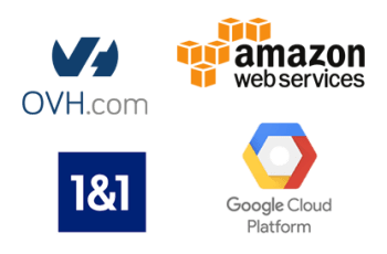 Размещайте ваш IP мини-АТС на Google, Amazon, OVH, 1&1