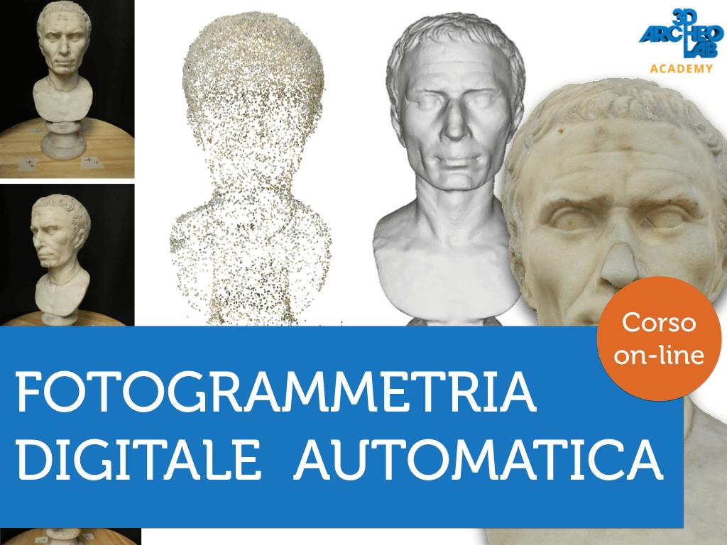 corso fotogrammetria automatica digitale online