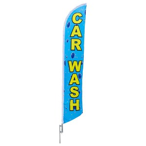 Aluma Pole Flag | Car Wash
