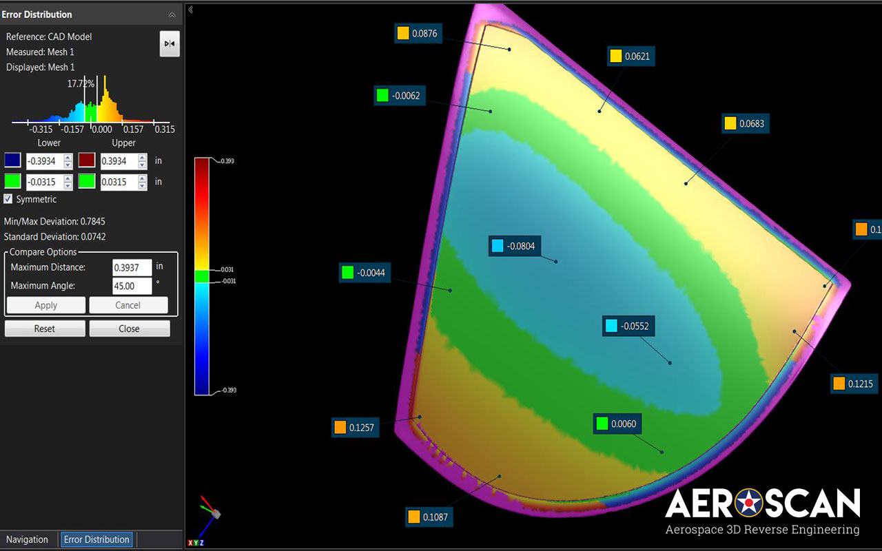 3d Scanning Inspection For Parts Mro Facilities