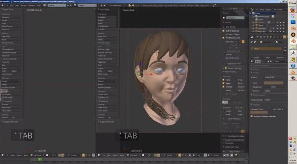 3dart_Blender-3d-Young-Girl-Timelapse