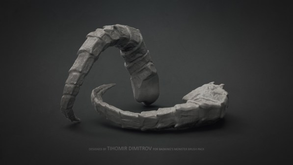 BadKing_Monster_Tihomir_Dimitrov_Horn_3dartist