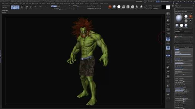 tutorial Render pass con Zbrush e Photoshop