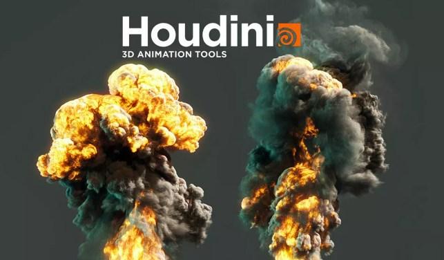 Houdini-Pyro-Explosion-Shader-Tutorial