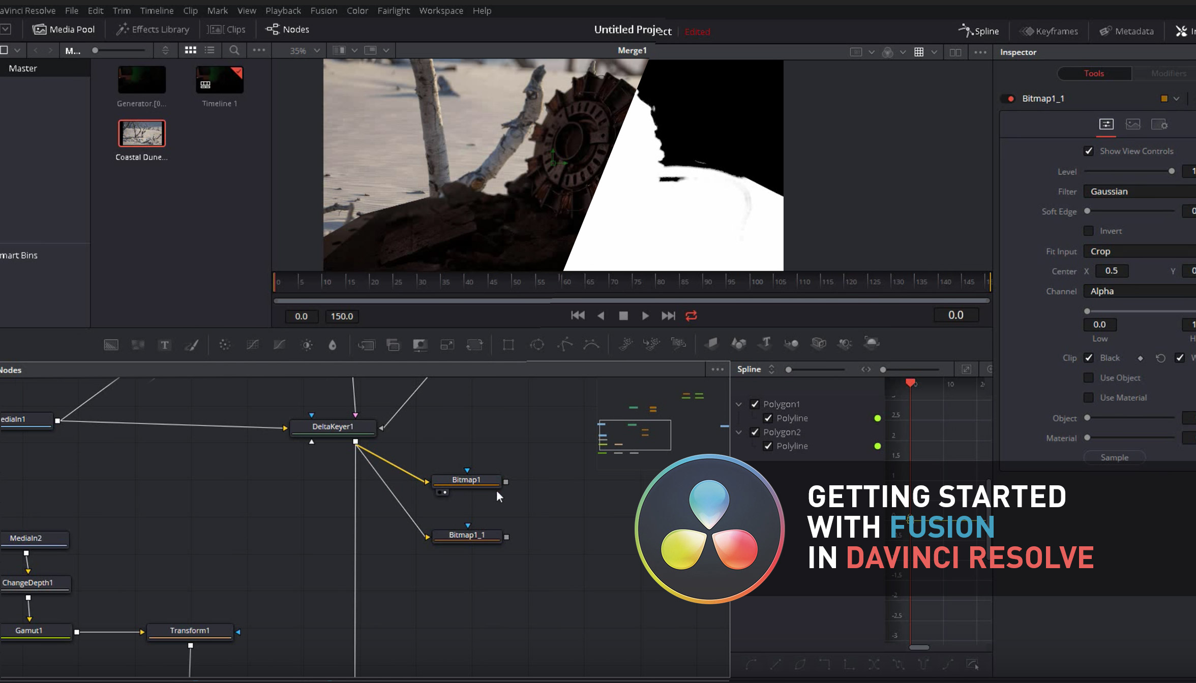 GETTING STARTED WITH FUSION IN DAVINCI RESOLVE