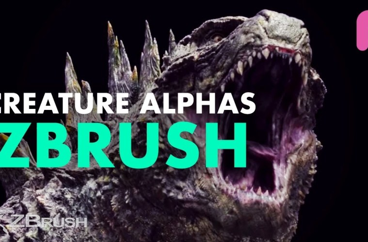 Creature Alphas for ZBrush