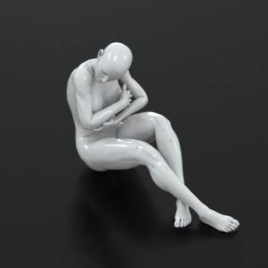 3d model for free - Pose