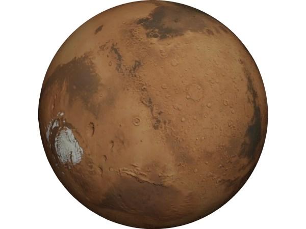 Planet Mars 3D Model - 3D CAD Browser