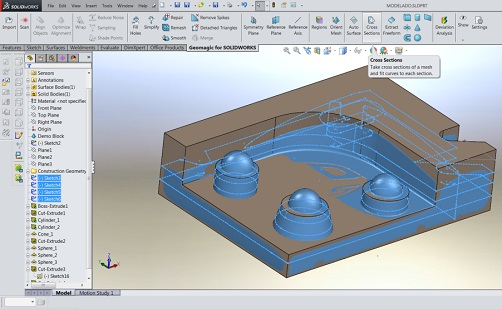 Geomagic for SolidWorks.