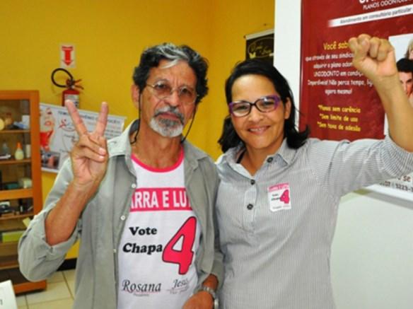 Rosana Nascimento é a nova presidente do Sinteac/Foto: Eudes Goes