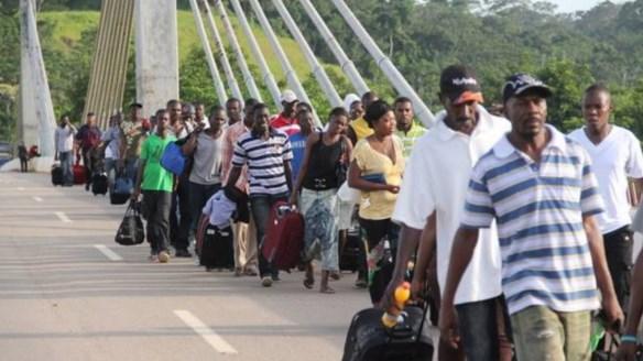 Cerca de 20 haitianos chegam ao Brasil por dia – Foto: Alexandre Lima