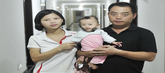 A família chinesa viajou até a província de Fujian para encontrar um tratamento-Foto: Grosby Group
