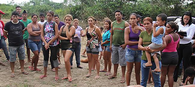 Uma das líderes do movimento, Terezinha de Jesus citou que na terça feira os invasores vão a câmara de Brasileia - FOTO ALEMÃO
