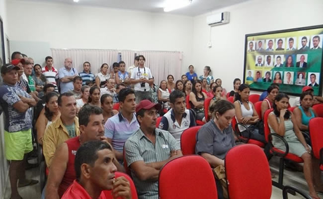 prefeito não vai repassar nenhum centavo para a empresa Menezes e Dantas e o caso será resolvido na justiça.FOTO JARRY CORREIA