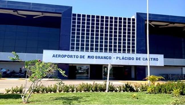 Aeroporto Plácido de Castro Rio Branco Acre deverá ser reformado em 2014 (Foto: Yuri Marcel / G1)