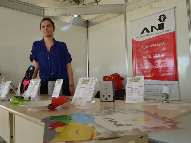 Associação Nacional dos Inventores montou exposição de invenções em setembro no Acre (Foto: Eduardo Duarte/G1)