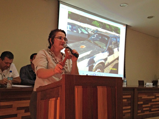 A expectativa é que 90% dos veículos sejam arrematados até o fim do leilão (Foto: Rayssa Natani/G1)