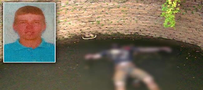 Corpo de Alan foi encontrado dentro de um cacimbão
