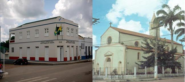 Centro Integrado do Judiciário                                    Paróquia Nossa Senhora das Dores.