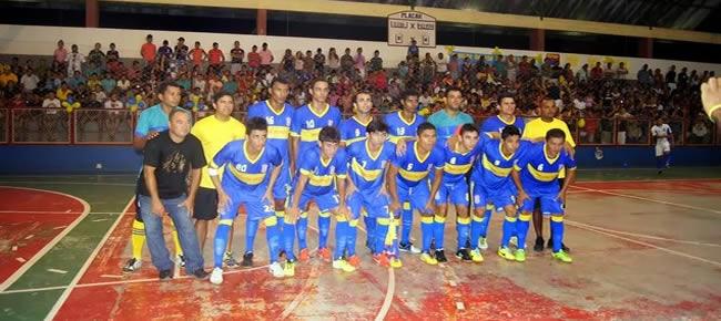 Verona vence Madureira no ginásio Ruinet Matos, em Tarauacá (Foto: Raimundo Accioly/Arquivo Pessoal)
