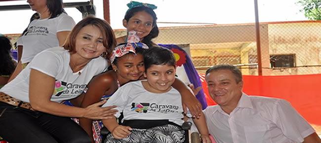 """secretária municipal de educação Marlete Lopes em um post em seu Facebook descreveu a magnitude do evento """""""