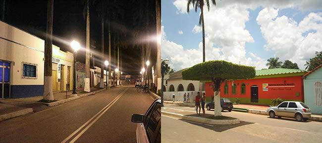 Imagens do dia a dia na cidade de Brasiléia no estado do Acre Brasil.