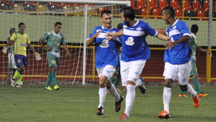 No primeiro turno, Galo goleou por 4 a 1 na Arena da Floresta (Foto: Manoel Façanha/Arquivo pessoal)