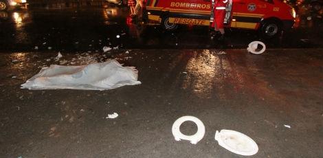 Homem e morto após ser atingido por uma privada no Estádio do Arruda