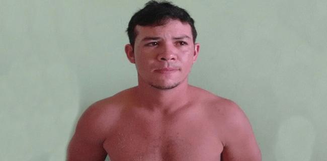 Francisco foi preso horas depois de tentar matar a ex-mulher/Foto: Tribuna do Juruá