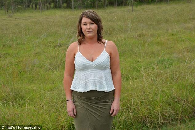 Amanda Murphy possuía um enorme tumor em sua ovário, o qual foi descoberto depois que ela tentou furar a cabeça com um faca.