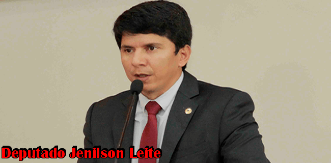 O parlamentar Jenilson Leite