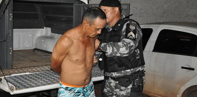 A prisão foi efetuada por policiais do 3° Batalhão/Foto: Selmo Melo