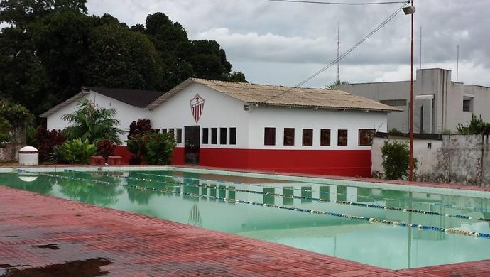 scina e futura academia do CT José de Melo, do Rio Branco (Foto: Manoel Façanha/Arquivo pessoal)