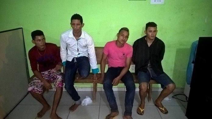 Quarteto acusado de praticar roubo em Manoel Urbano