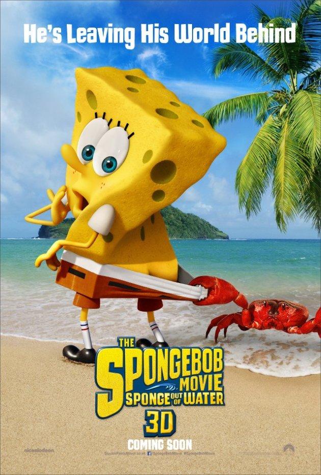 Spongebob Schwammkopf 3d Das Erste Poster 3dfilmfans Alles
