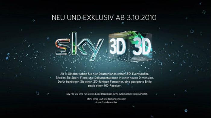 Sky 3d Freischaltung