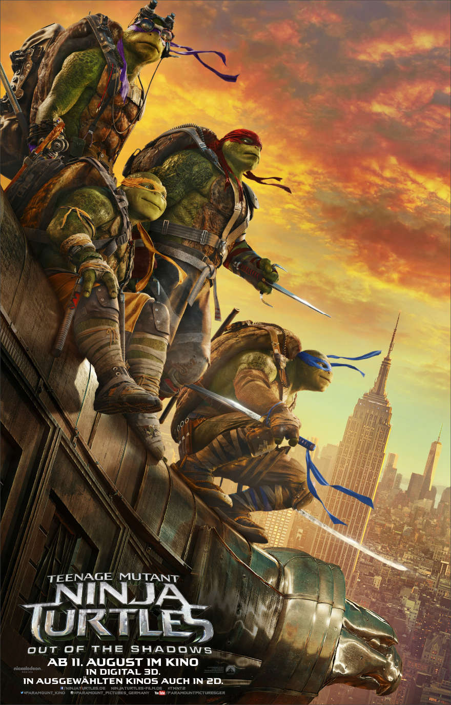 Teenage-Mutant-Ninja-Turtels-Out-of-the-shadows-3D-deutsches-poster