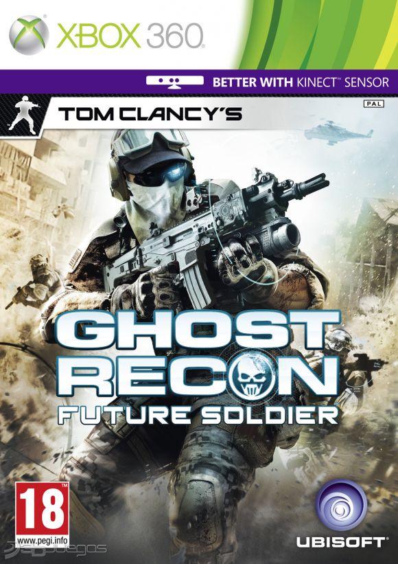 Ghost Recon Future Soldier Para Xbox 360 3DJuegos