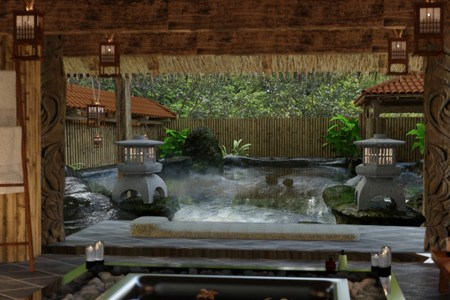 Japanese Spa and Hot Spring