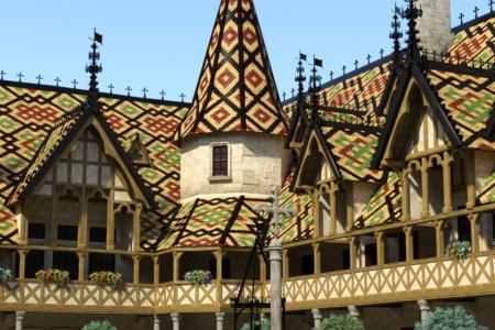 Beaune-Courtyard