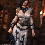 dForce Warrior of Dusk Outfit for Genesis 8 Female
