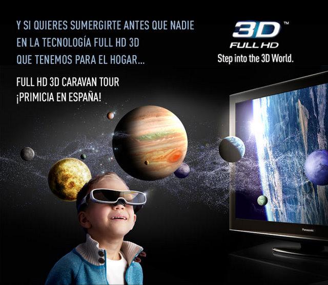 Caravana 3D de Panasonic