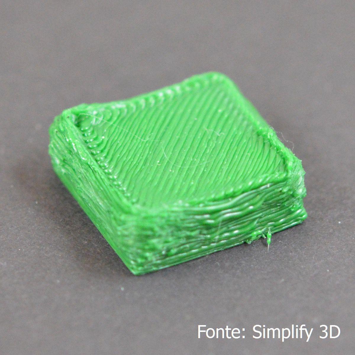 Extrusão de muito plástico Extrusão de muito plástico Over Extruding