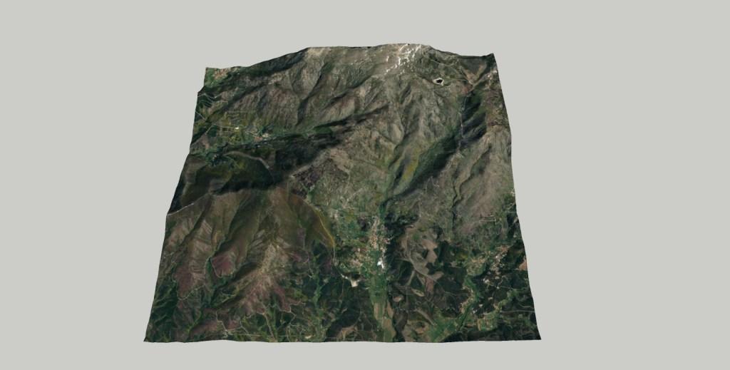 topografia Topografia 3D Serra da Estrela 2 1024x519