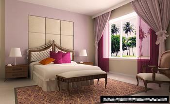 Simple And Elegant Bedroom Model 3D Model DownloadFree 3D