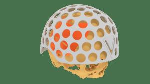3D Helm, 3d print, 3d conversie, CT-scan