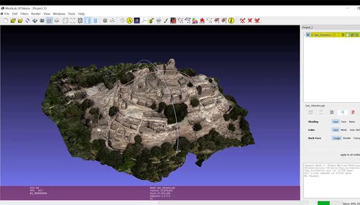 logiciel impression 3d meshlab