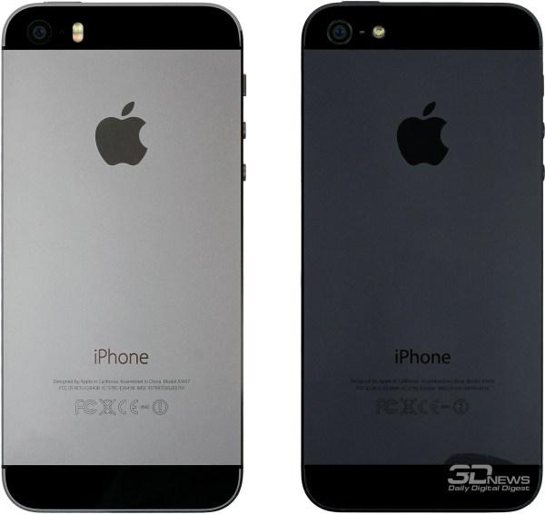Apple iPhone 5s: айсберг в океане «Андроидов» / Смартфоны